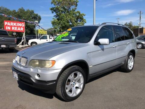 2001 BMW X5 for sale at C J Auto Sales in Riverbank CA