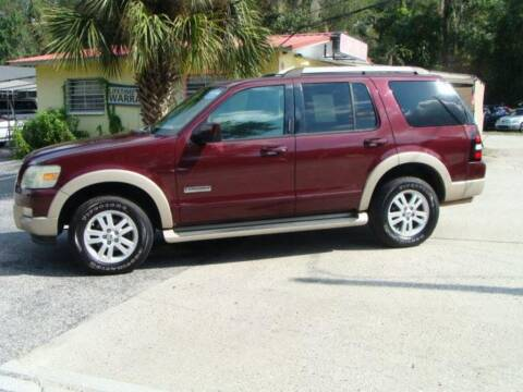 2007 Ford Explorer for sale at VANS CARS AND TRUCKS in Brooksville FL