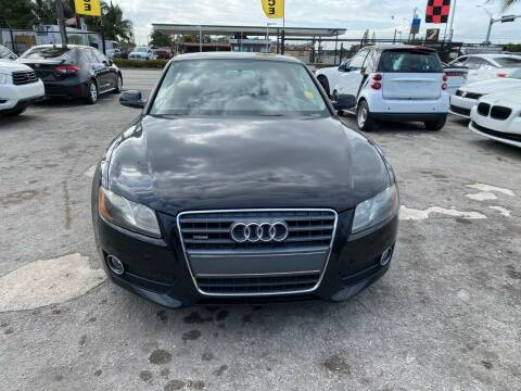 2011 Audi A5 for sale at America Auto Wholesale Inc in Miami FL