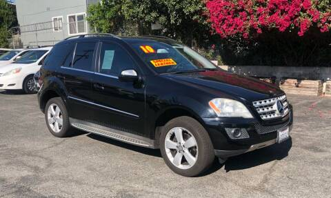 2010 Mercedes-Benz M-Class for sale at Eden Motor Group in Los Angeles CA