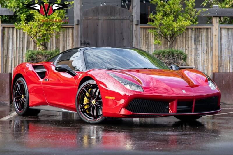 2018 Ferrari 488 Spider for sale at Veloce Motorsales in San Diego CA