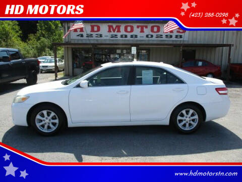 2010 Toyota Camry for sale at HD MOTORS in Kingsport TN