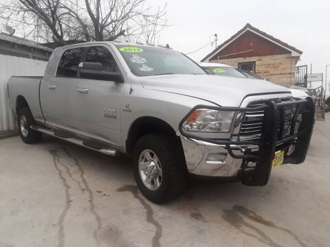2013 RAM Ram Pickup 2500 for sale at Speedway Motors TX in Fort Worth TX