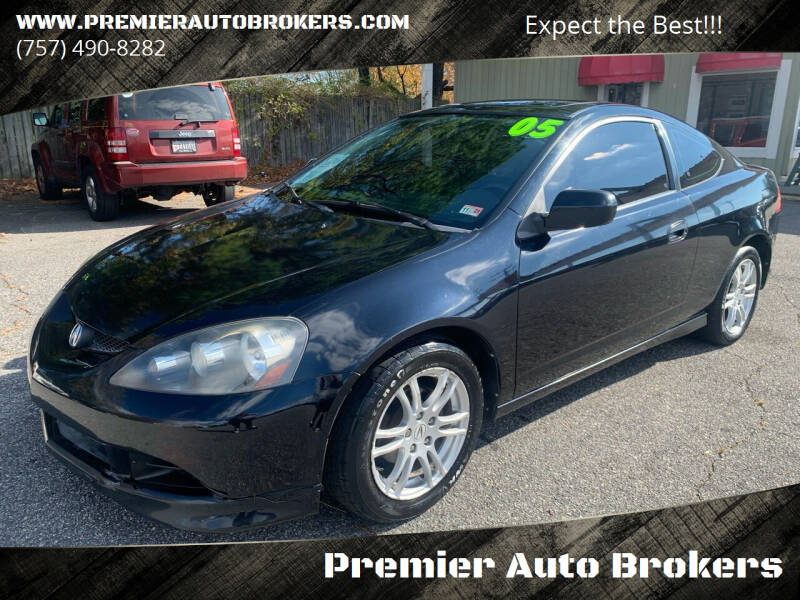 2005 Acura RSX for sale at Premier Auto Brokers in Virginia Beach VA