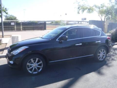 2013 Infiniti EX37 for sale at J & E Auto Sales in Phoenix AZ