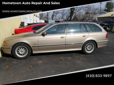 2000 BMW 5 Series for sale at Hometown Auto Repair and Sales in Finksburg MD