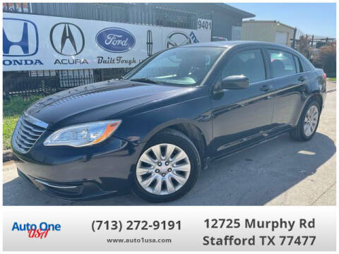 2012 Chrysler 200 for sale at Auto One USA in Stafford TX