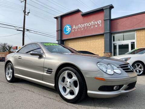 2005 Mercedes-Benz SL-Class for sale at Automotive Solutions in Louisville KY