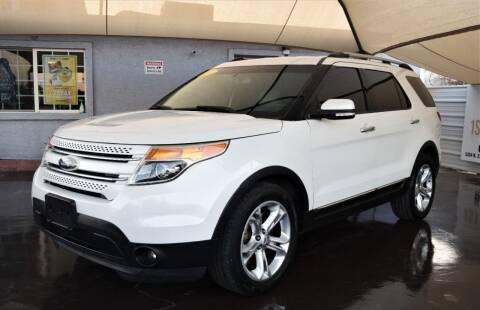 2015 Ford Explorer for sale at 1st Class Motors in Phoenix AZ