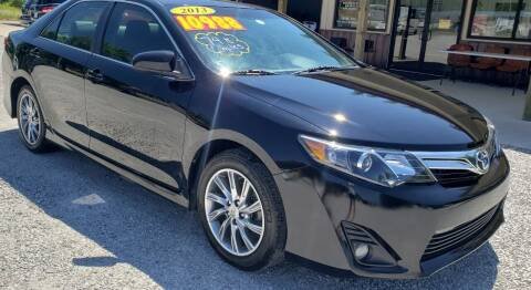 2013 Toyota Camry for sale at COOPER AUTO SALES in Oneida TN