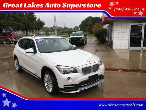 2015 BMW X1 for sale at Great Lakes Auto Superstore in Pontiac MI