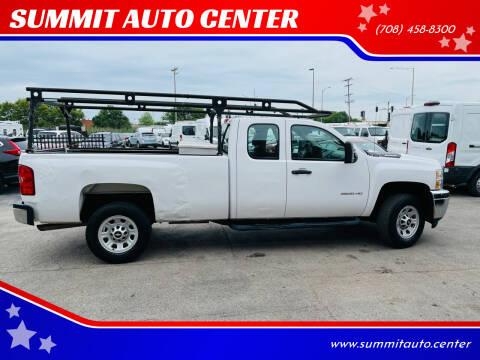 2012 Chevrolet Silverado 2500HD for sale at SUMMIT AUTO CENTER in Summit IL