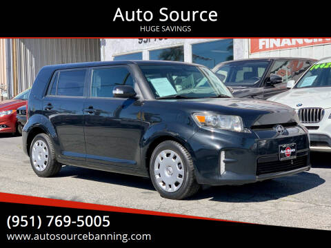 2013 Scion xB for sale at Auto Source in Banning CA
