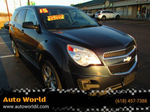 2015 Chevrolet Equinox for sale at Auto World in Carbondale IL