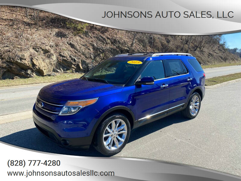 2013 Ford Explorer for sale at Johnsons Auto Sales, LLC in Marshall NC