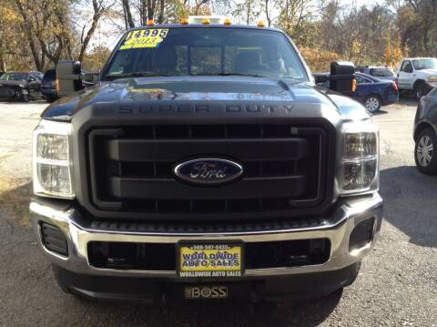 2013 Ford F-250 Super Duty for sale at Worldwide Auto Sales in Fall River MA