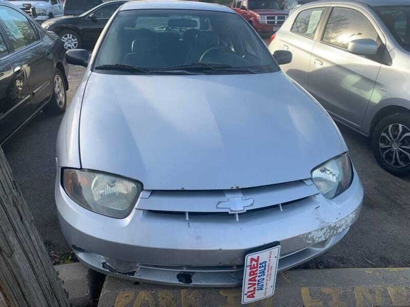 2004 Chevrolet Cavalier for sale at ALVAREZ AUTO SALES in Des Moines IA