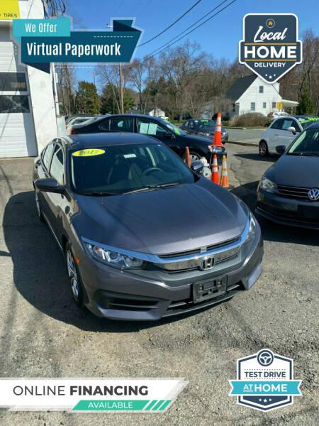 2017 Honda Civic for sale at Washington Auto Repair in Washington NJ