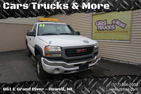 2006 GMC Sierra 2500HD for sale at Cars Trucks & More in Howell MI