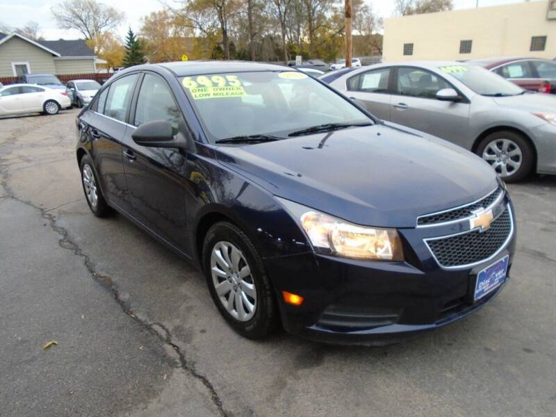 2011 Chevrolet Cruze for sale at DISCOVER AUTO SALES in Racine WI