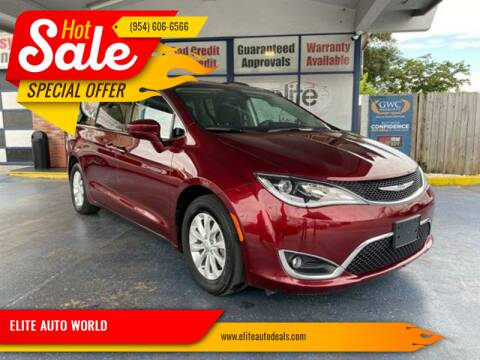 2018 Chrysler Pacifica for sale at ELITE AUTO WORLD in Fort Lauderdale FL