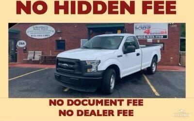 2016 Ford F-150 for sale at Cars4Less GA in Alpharetta GA