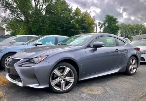 2015 Lexus RC 350 for sale at Top Line Import in Haverhill MA