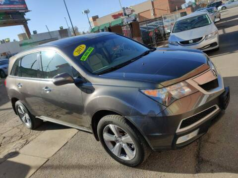 2012 Acura MDX for sale at Sanaa Auto Sales LLC in Denver CO