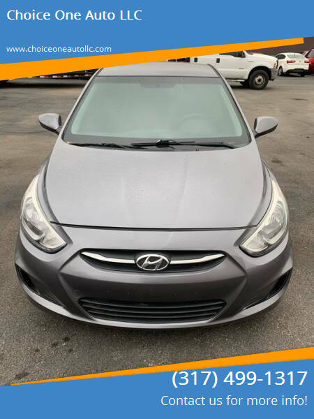 2015 Hyundai Accent for sale at Choice One Auto LLC in Beech Grove IN