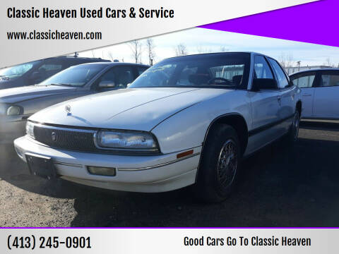 1992 Buick Regal for sale at Classic Heaven Used Cars & Service in Brimfield MA