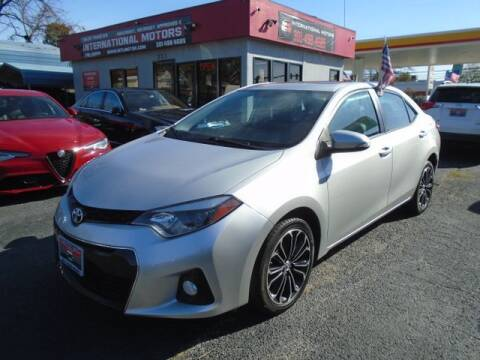 2016 Toyota Corolla for sale at International Motors in Laurel MD