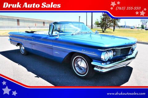 1960 Pontiac Bonneville for sale at Druk Auto Sales in Ramsey MN