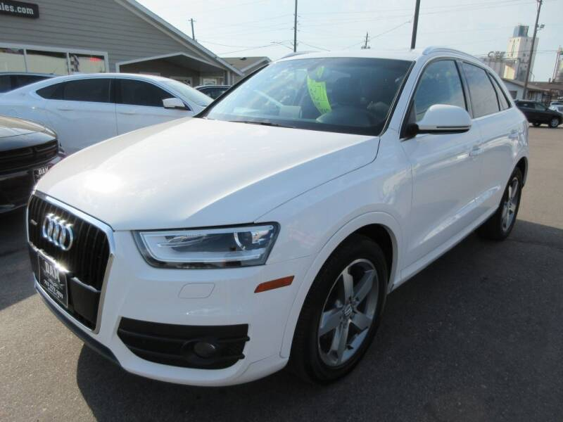 2015 Audi Q3 for sale at Dam Auto Sales in Sioux City IA