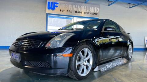 2003 Infiniti G35 for sale at Wes Financial Auto in Dearborn Heights MI