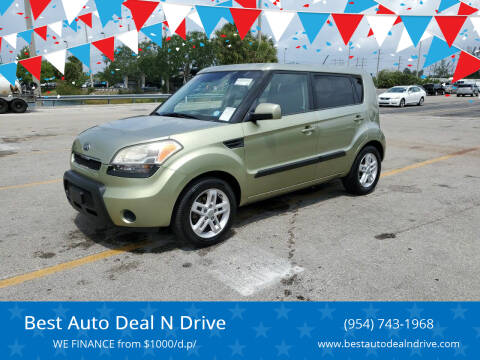 2011 Kia Soul for sale at Best Auto Deal N Drive in Hollywood FL