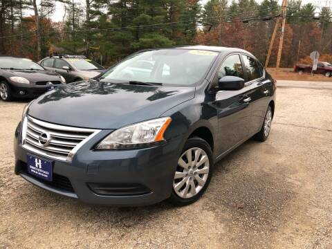 2014 Nissan Sentra for sale at Hornes Auto Sales LLC in Epping NH