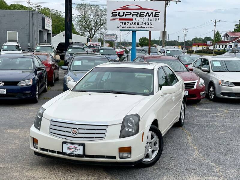 2007 Cadillac CTS for sale at Supreme Auto Sales in Chesapeake VA