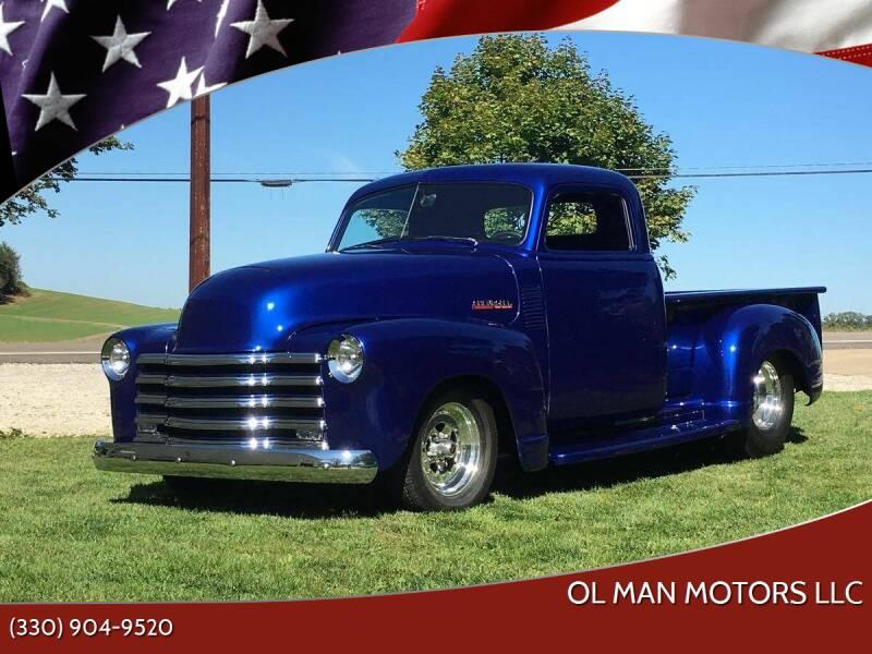 1949 Chevrolet 3100 for sale at Ol Man Motors LLC in Louisville OH
