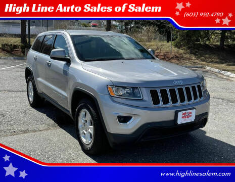 2016 Jeep Grand Cherokee for sale at High Line Auto Sales of Salem in Salem NH