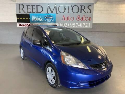 2010 Honda Fit for sale at REED MOTORS LLC in Phoenix AZ