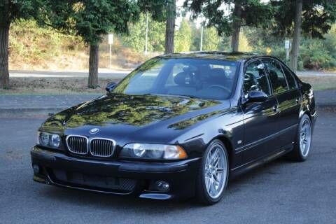 2000 BMW M5 for sale at Top Gear Motors in Lynnwood WA