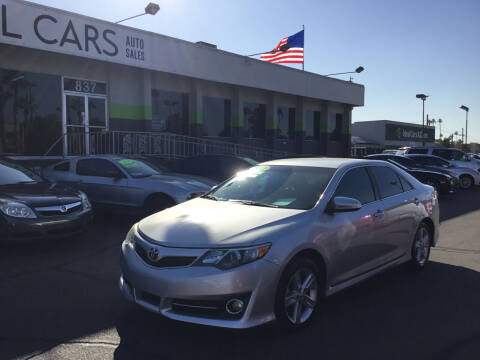 2012 Toyota Camry for sale at Ideal Cars in Mesa AZ