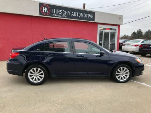 2013 Chrysler 200 for sale at Hirschy Automotive in Fort Wayne IN