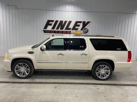 2013 Cadillac Escalade ESV for sale at Finley Motors in Finley ND
