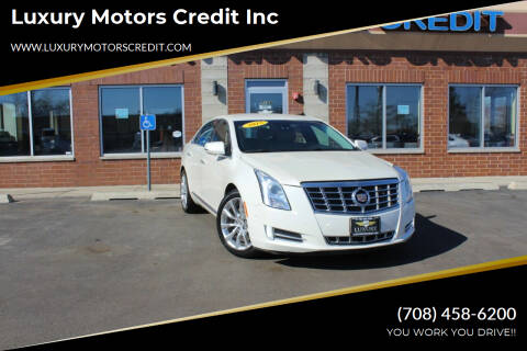 2015 Cadillac XTS for sale at Luxury Motors Credit Inc in Bridgeview IL