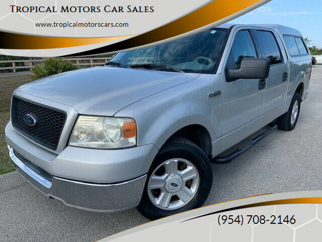 2004 Ford F-150 for sale at Tropical Motors Car Sales in Deerfield Beach FL