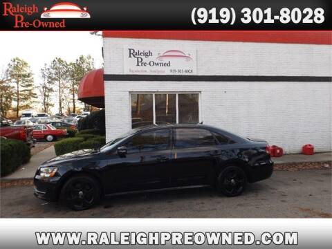 2014 Volkswagen Passat for sale at Raleigh Pre-Owned in Raleigh NC