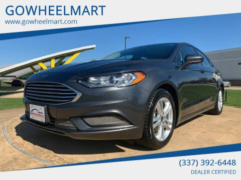 2018 Ford Fusion for sale at GOWHEELMART in Leesville LA