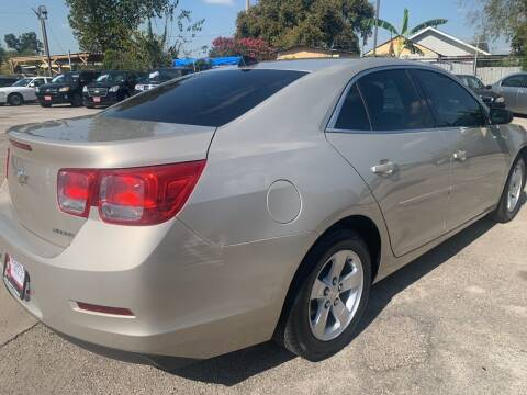 2013 Chevrolet Malibu for sale at FAIR DEAL AUTO SALES INC in Houston TX