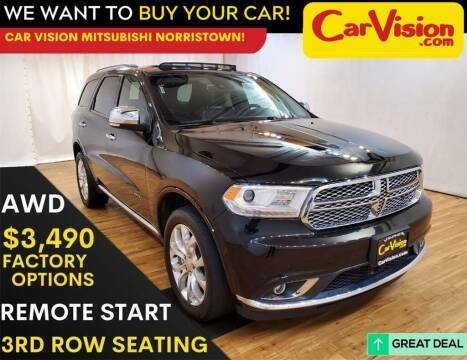 2018 Dodge Durango for sale at Car Vision Mitsubishi Norristown in Trooper PA